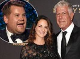 anthony bourdain slams james corden for weinstein jokes