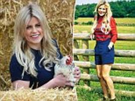 ellie harrison says viewers only ask about her outfits