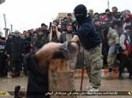 isis execution site in raqqa is captured by us-led forces