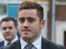 irish rugby stars arrive at court to face rape claims