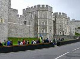more anti-vehicle barriers installed at windsor castle