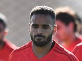 Benfica train ahead of Manchester United match
