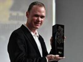 chris froome claims velo d'or