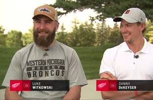 Pair of Broncos turned Red Wings