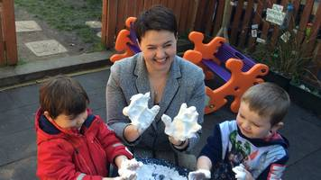 ruth davidson to appear on celebrity great british bake off