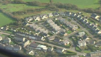 Hurricane Ophelia: Engineers survey damage from the air