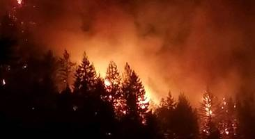 dozens still missing as wine country wildfires wane; new fire erupts in santa cruz