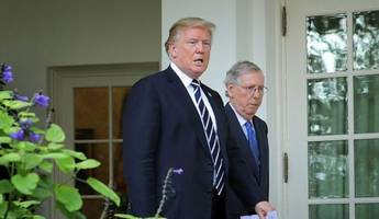 Trump Encourages Detente Between Bannon And McConnell As Tax Reform Deadline Looms