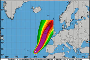 storm ophelia was so unusual, it was literally off the charts
