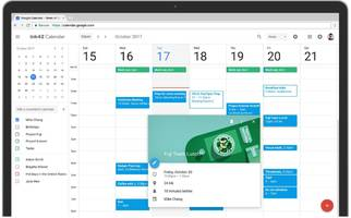 The redesigned Google Calendar for web is infinitely prettier