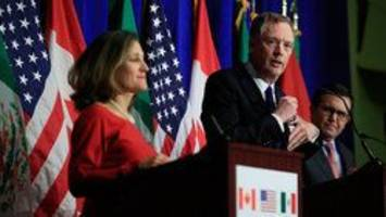 nafta talks to be extended into 2018 after stalemate