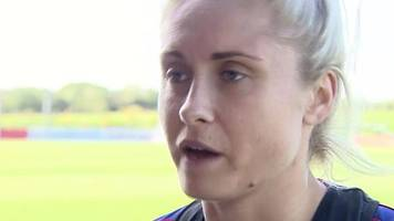 steph houghton: england captain said atmosphere for russia game was 'emotional and distracting'