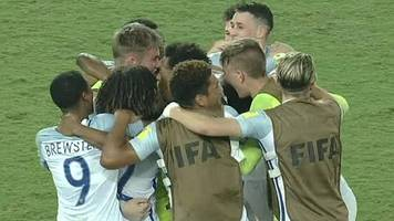 watch: england u17s hold nerve to reach world cup quarter-finals