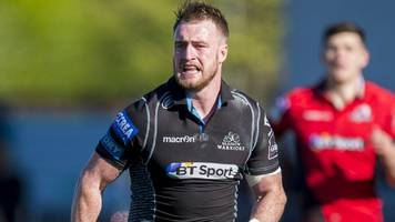 glasgow's hogg back for first time since lions tour