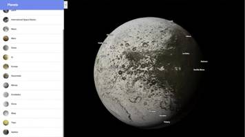 Google Maps Fulfills Astronaut Dreams With New Celestial Imagery