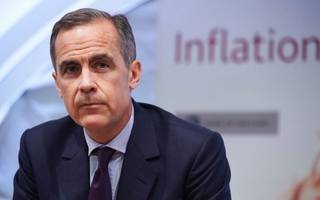 carney backs inflation to peak before the end of the year