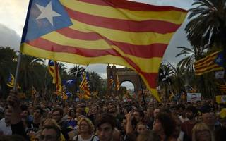 spain's catalonia crisis requires nerves of steel for brave equity traders