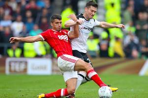 nottingham forest fans rate eric lichaj as top performer at derby; should he start against burton?