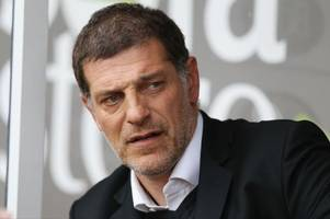 it's surprising but charlton athletic's karl robinson and west ham's slaven bilic do have something in common