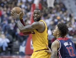 lebron questionable to face irving, celtics in cavs' opener