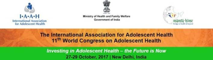 "india's first global conference on adolescent health focuses on ""investing in youth for a healthy new india"""