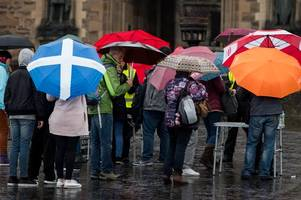 Flights, ferries and trains cancelled as Storm Ophelia causes travel misery across Scotland today