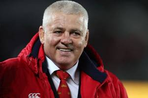 warren gatland 'hated' the lions tour to new zealand and vows never to do the job again