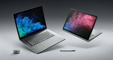 Microsoft Announces the Surface Book 2 with New 15-Inch Version