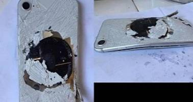 This Could Be the First iPhone 8 That Exploded Due to a Bad Battery