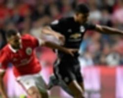 live: benfica vs manchester united