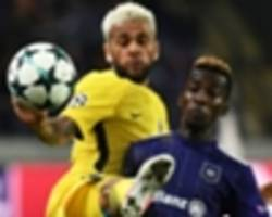 henry onyekuru impresses in anderlecht's champions league defeat to psg