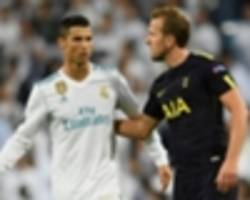 kane 'focused on tottenham' after draw with 'world's best' real madrid