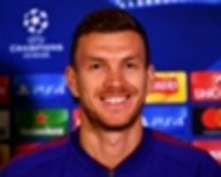 'older, better' dzeko feeling good on return to england