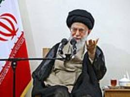 iran supreme leader bashes trump for 'rants and whoppers'