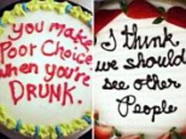 people share their brutal #honestcakemessages