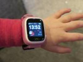 is a stranger hacking your child's smart watch?