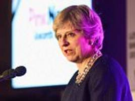 Theresa May vows to make it easier to change gender
