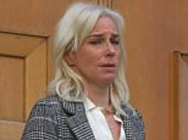 Widow of murdered Royal Navy officer, 35, weeps in court