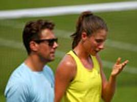 johanna konta separates from coach wim fissette