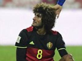 manchester united man marouane fellaini flees psg hotel