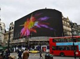 new screen at piccadilly circus could track people