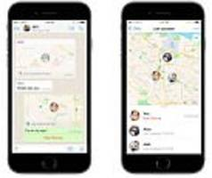 Whatsapp's Live Location feature lets friends track you
