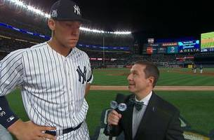 'We're never out of the game with the kind of offense that we have': Aaron Judge on the Yankees' huge Game 4 comeback