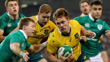 ireland to play wallabies in three-test series next year