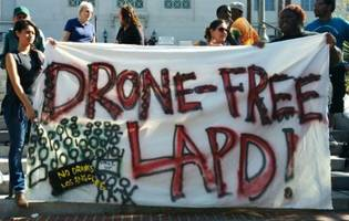 lapd gets approval to unleash drone program as protesters take to the streets