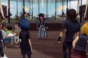 Final Fantasy XV continues to grow in strange ways with mobile and VR spinoffs