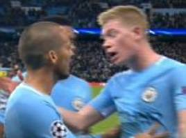 Man City's Kevin De Bruyne explains David Silva argument