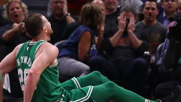 celtics' $128m signing fractures ankle in season opener