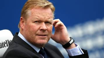 Lyon match 'really important' for Everton - Koeman