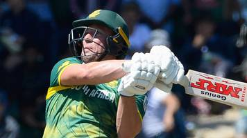 ab de villiers hits 176 as south africa thrash bangladesh by 104 runs